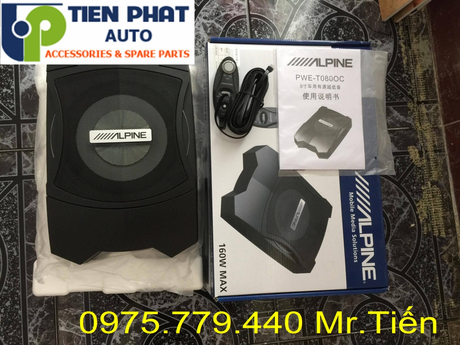 loa sub dien alpine pwe-t0800c am thanh hay chuan cho ford everest