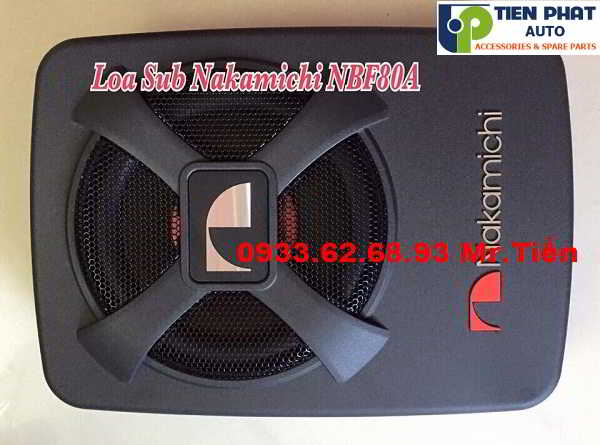 Lắp Đặt Loa Sub Nakamichi NBF 80A Cho Xe Ford Forcus