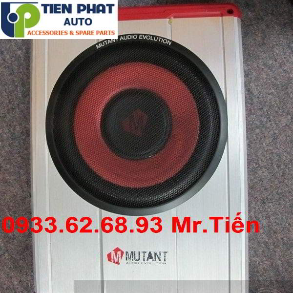 Lắp Đặt Loa Sub Mutang M-F8UAS 1000W Cho Xe Kia Rondo