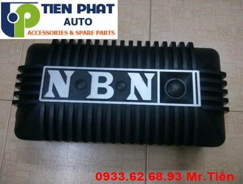 Lắp Đặt Loa Sub NBN -NA0868APR Cho Xe Toyota Fortuner
