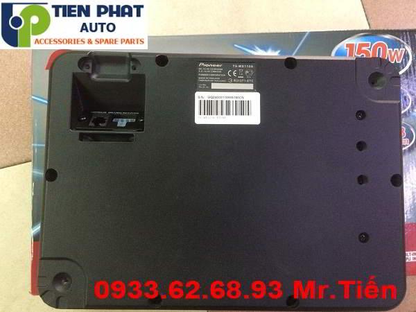 Lắp Đặt Loa Sub Pioneer 110A Cho Xe Toyota Innova
