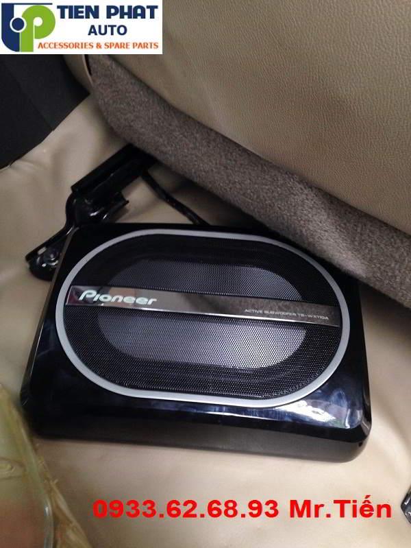 Lắp Đặt Loa Sub Pioneer TS-WX110A Cho Xe Chevrolet Gentra Tại Quận Tân Phú