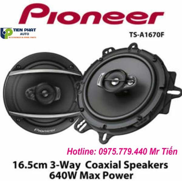 Loa Pioneer TS-A1670F Loa Cánh Cửa Cho Ô Tô