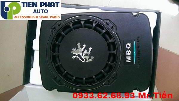 Lắp Đặt Loa Sub MBQ Sư Tử 10 Inch Cho Xe Nissan Navara NP 300